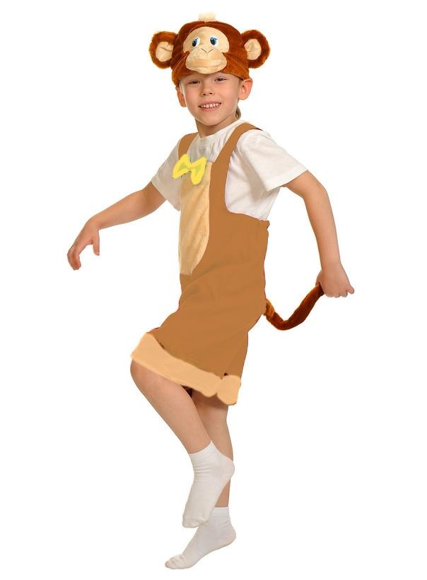 Детский костюм Веселой Обезьянки (26) - Животные и зверушки, р.26