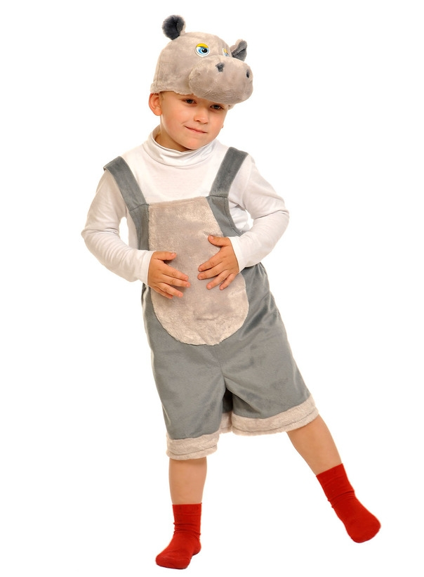цена Детский костюм Бегемотика (26-32) онлайн в 2017 году
