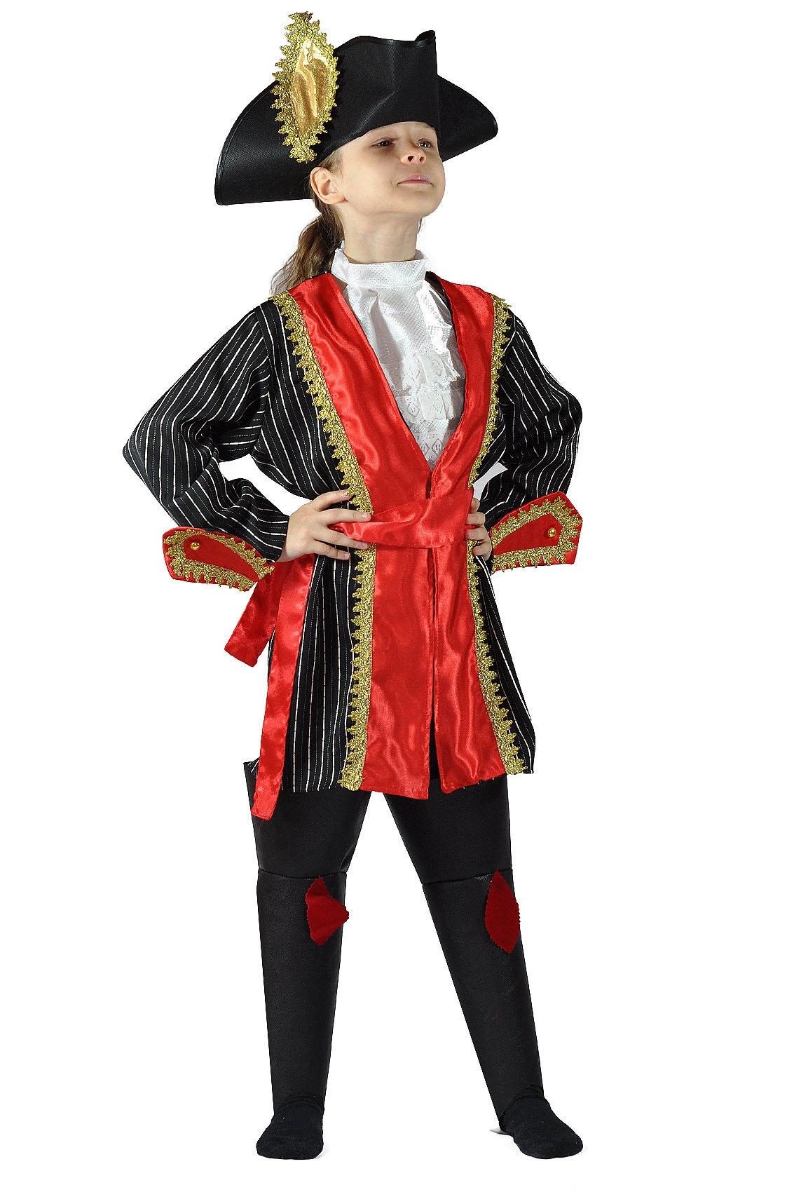 Детский костюм Атамана Пиратов (30) детский костюм озорного клоуна 34