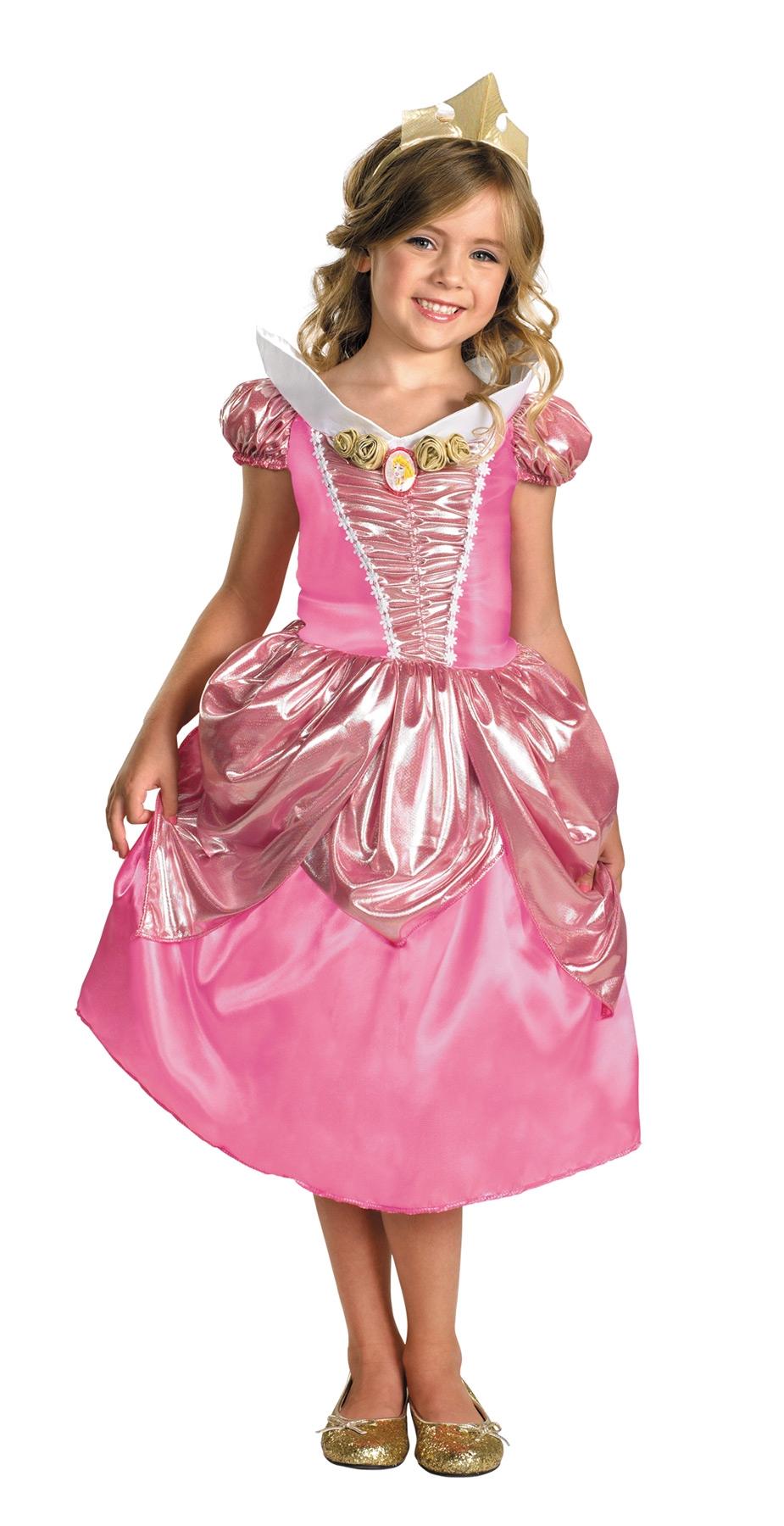 Детский костюм Спящей красавицы Авроры (28) парик спящей красавицы uni