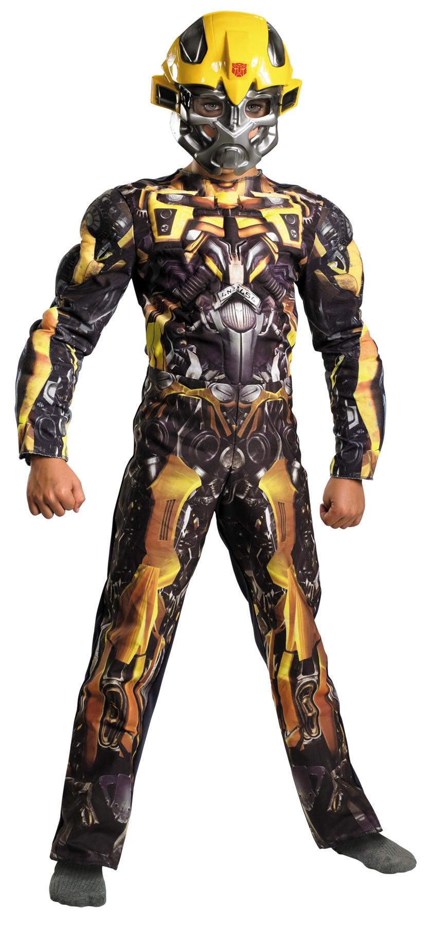 Детский костюм Желтого Трансформера Бамблби (38) детский костюм гонщицы даники патрик 38