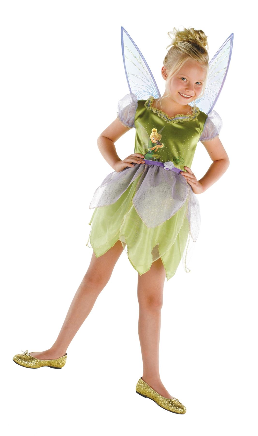 Детский костюм Феи Тинкер Белл (34-38) костюм феи динь динь зеленый 46 48