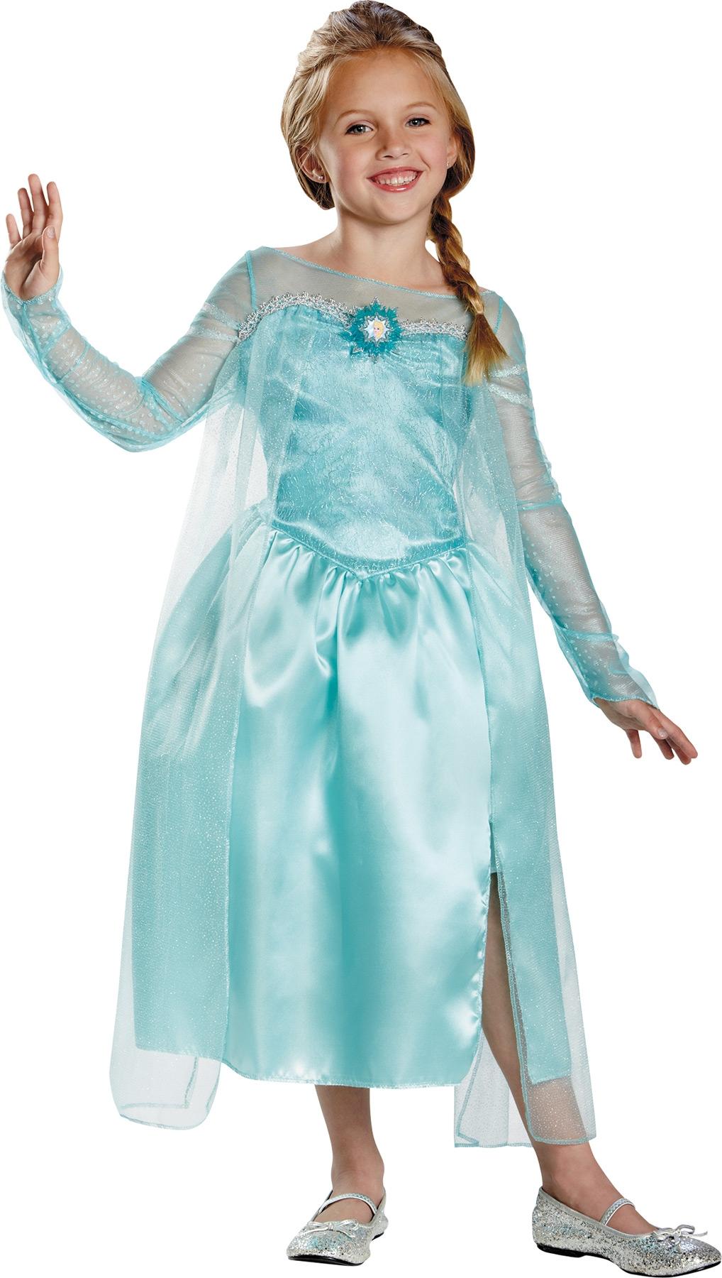 Детский костюм Королевы Эльзы (32-34) детский костюм джульетты 32 34