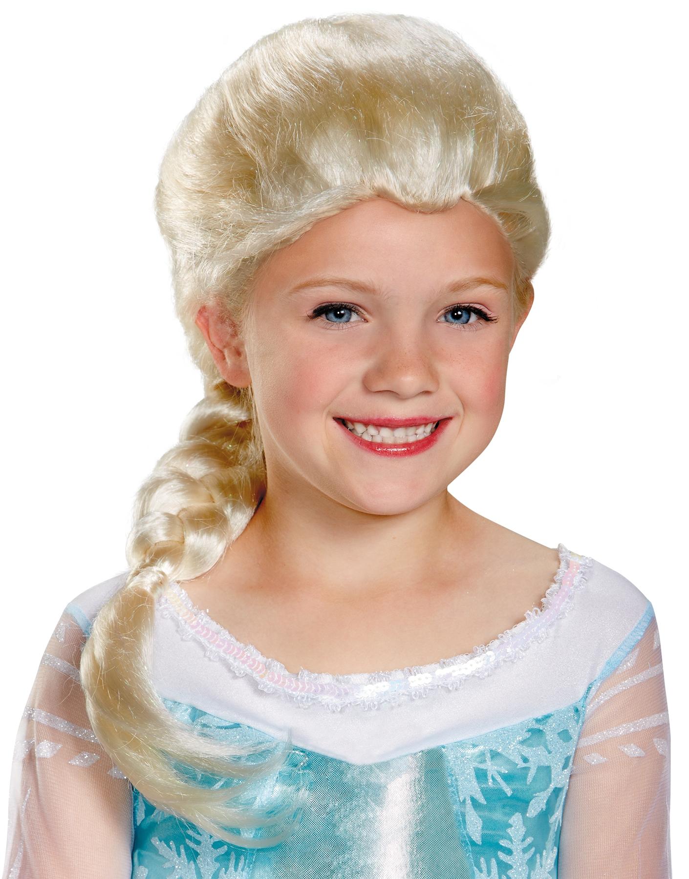 Детский парик Эльзы (UNI) детский парик золушки из фильма uni