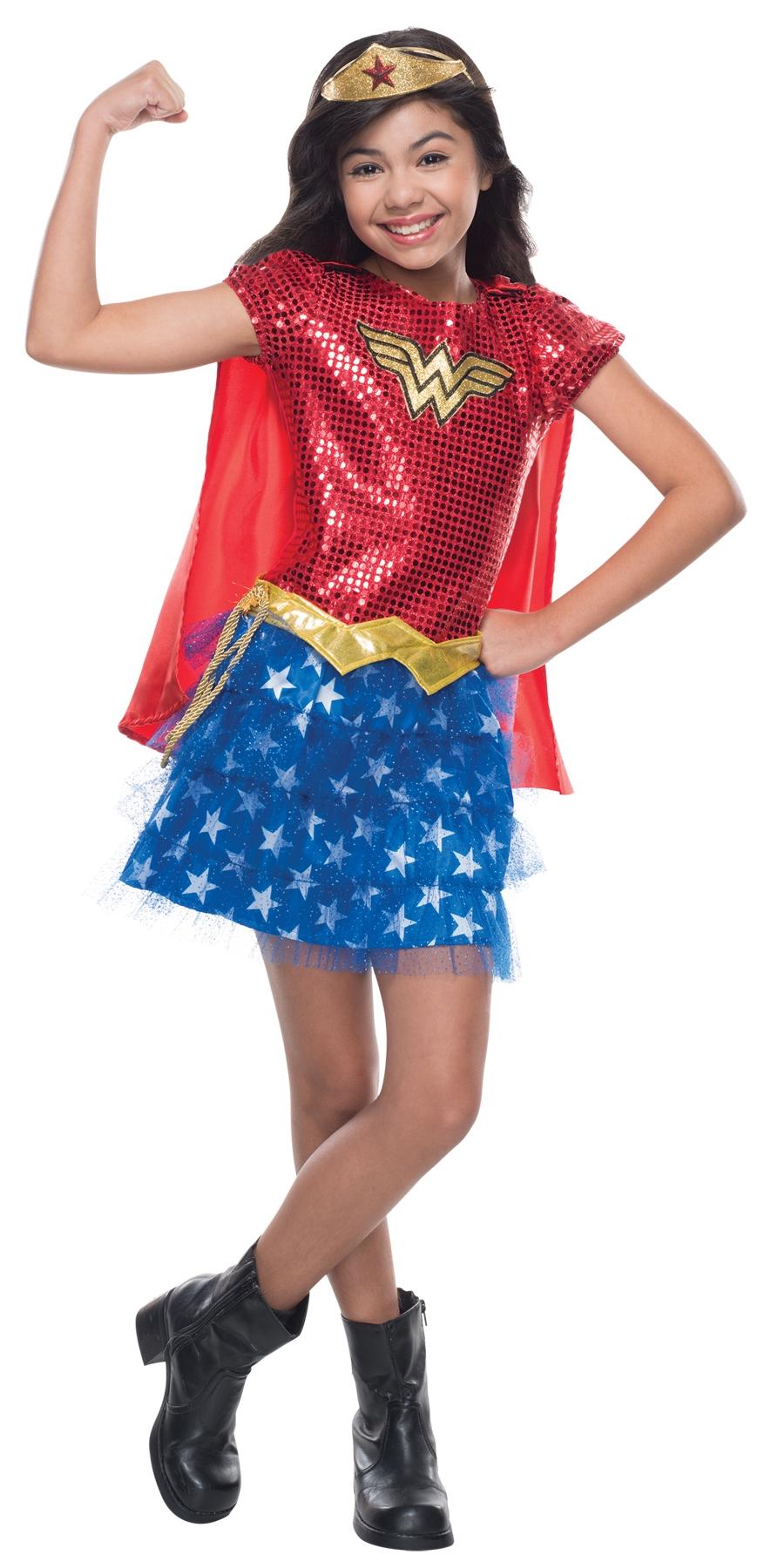 Детский костюм Вандервуман (32) - Супергерои и комиксы, р.32