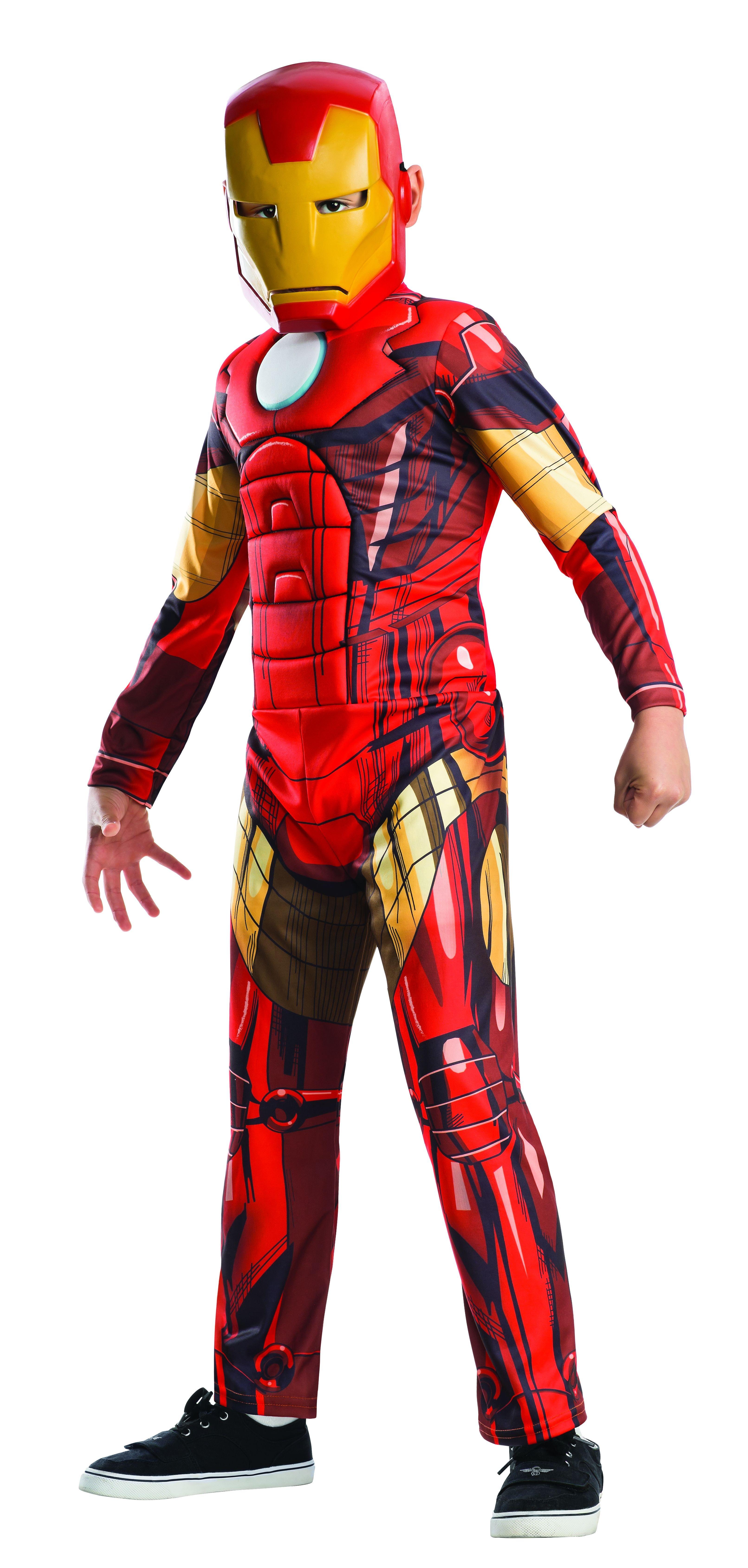 Детский костюм Железного Человека Делюкс (34-36)