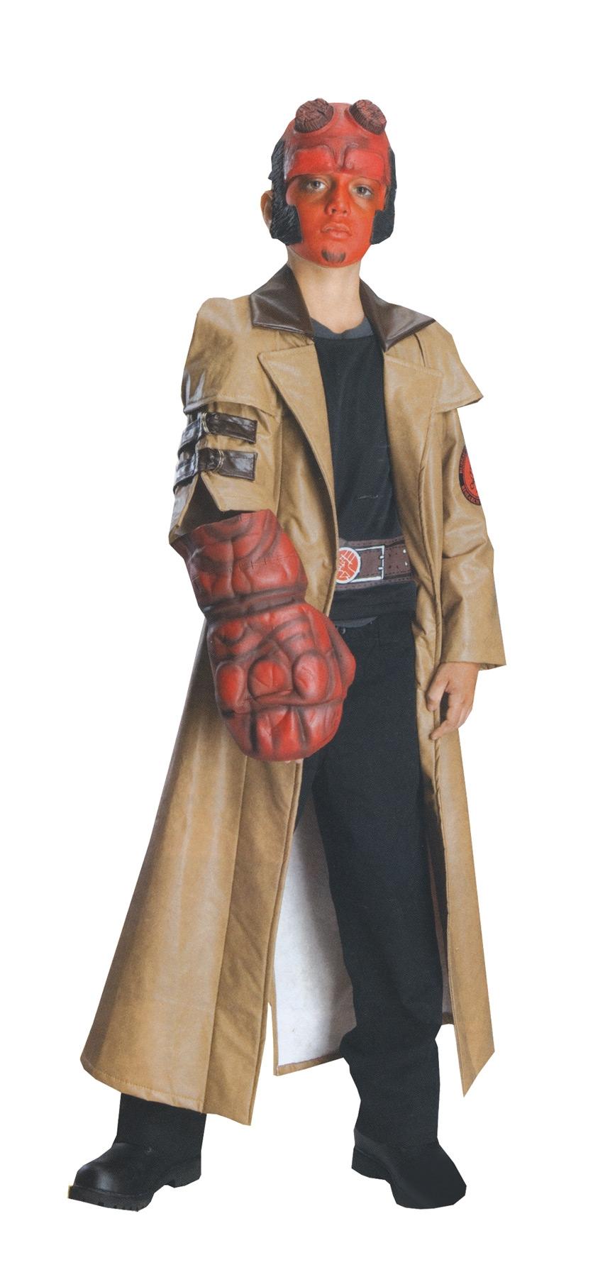 Детский костюм Хэллбоя (34-36) -  Киногерои
