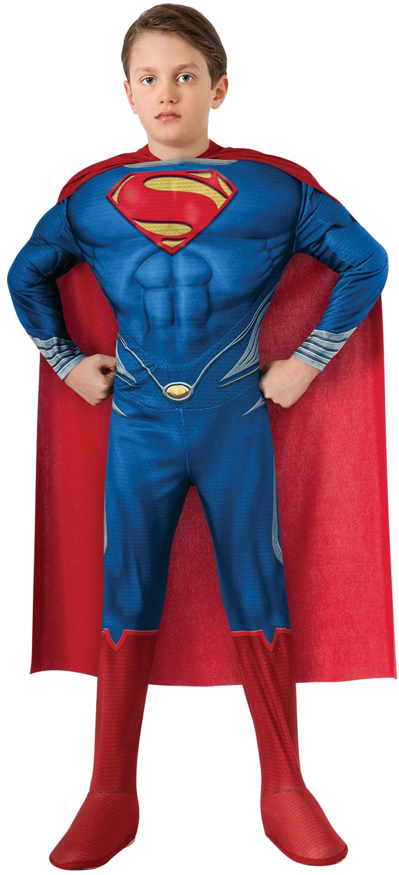 Детский костюм Эффектного Супермена (32) детский костюм озорного клоуна 34