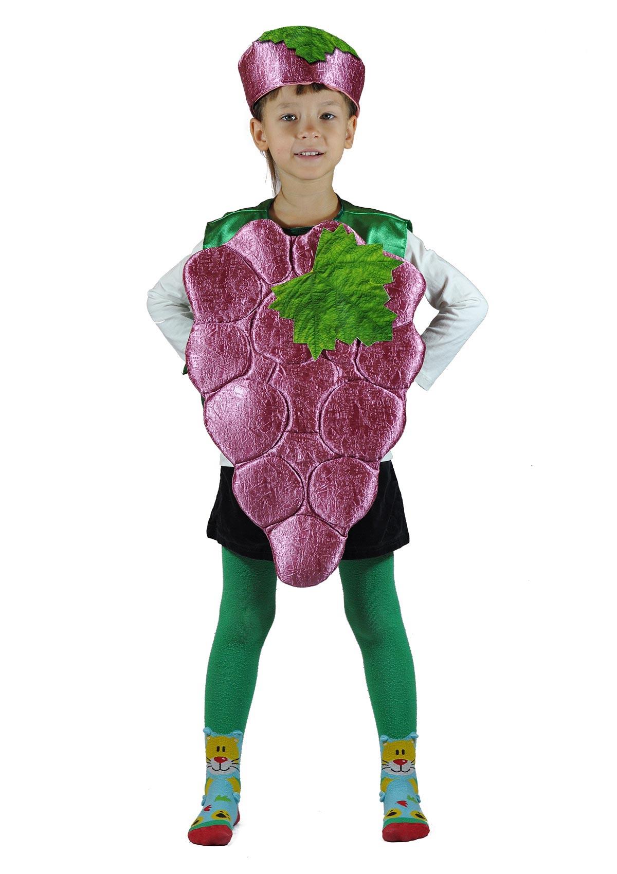 Детский костюм Винограда (26-34) детский костюм фиолетовой феи виндс 34