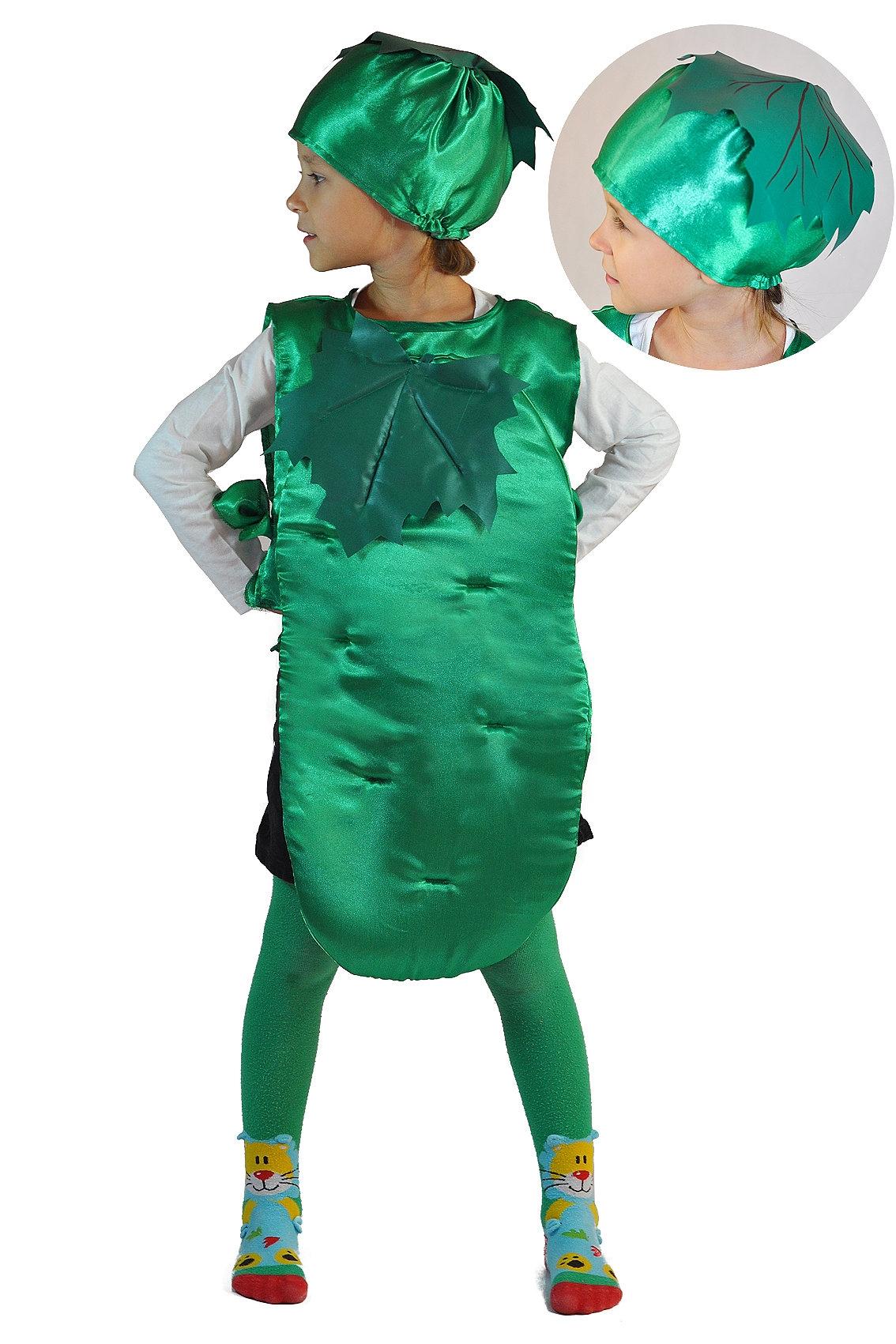 Детский костюм Огурца (26-34) недорого