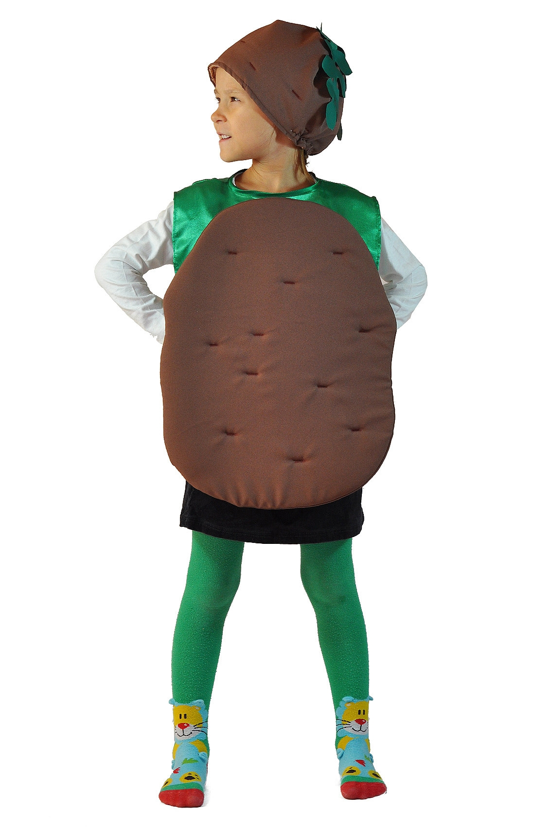 Детский костюм Картошки (26-34) детский костюм озорного клоуна 34