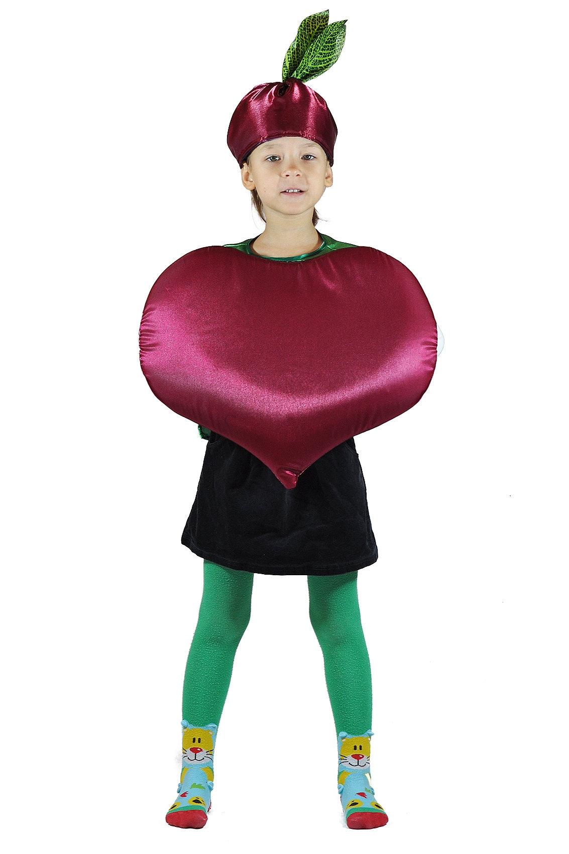 Детский костюм Огородной Свеклы (26-34) детский костюм озорного клоуна 34