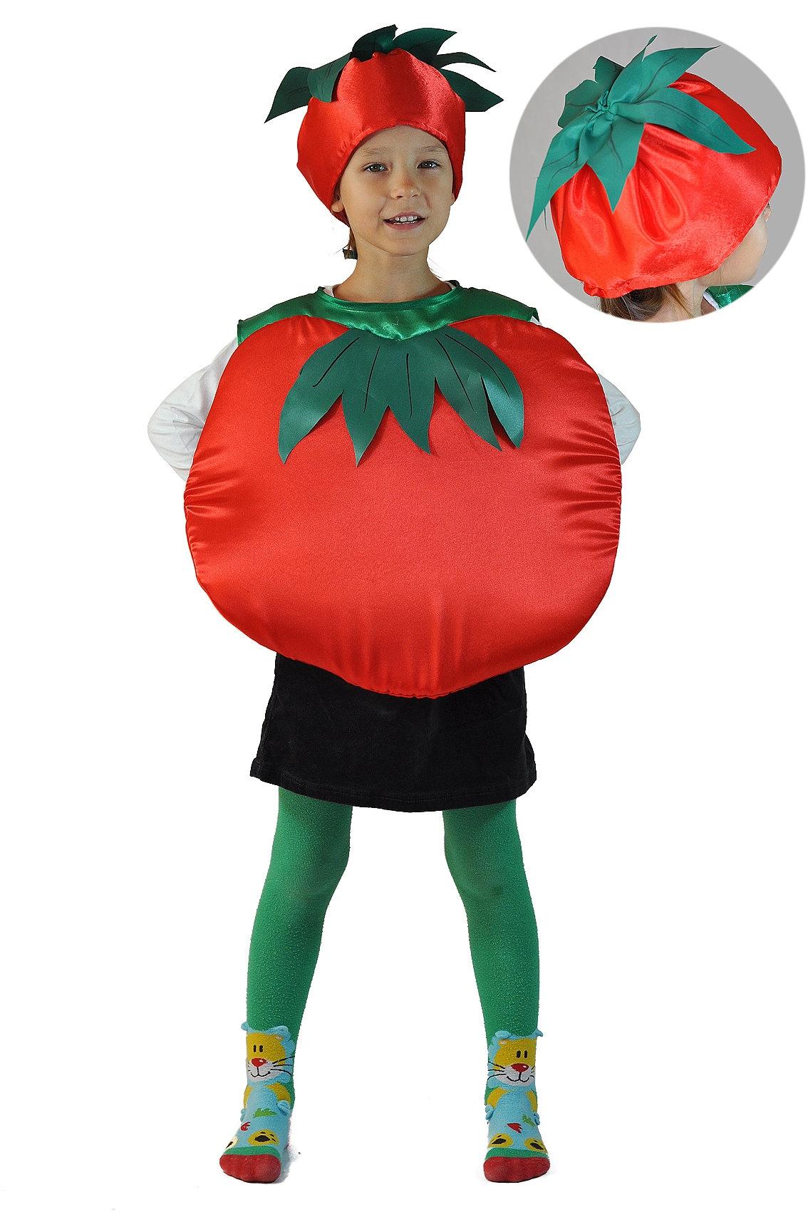 Детский костюм Красного Помидора (26-34) детский костюм фиолетовой феи виндс 34