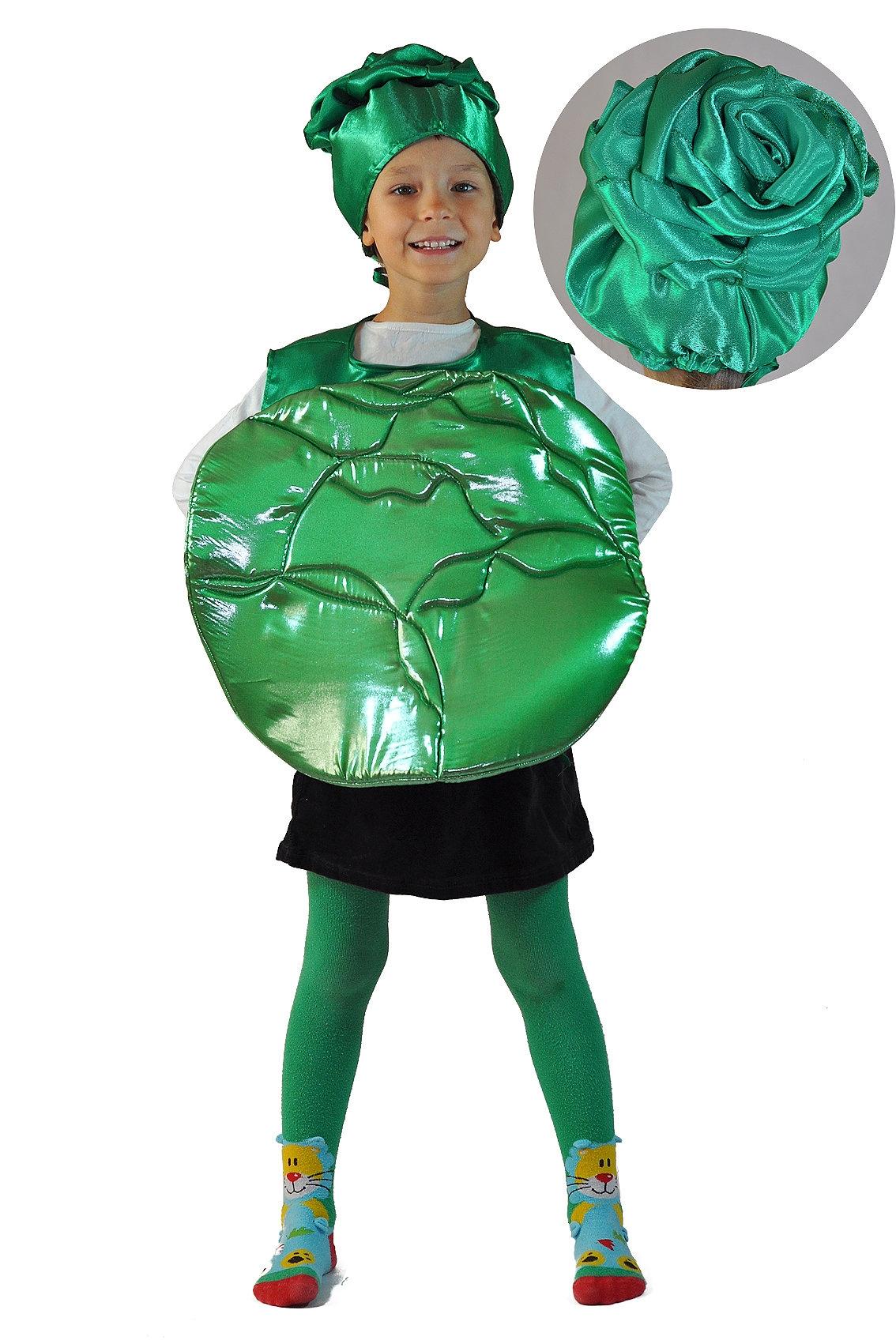 Детский костюм Зеленой Капусты (26-34) костюм прекрасной шапочки 30