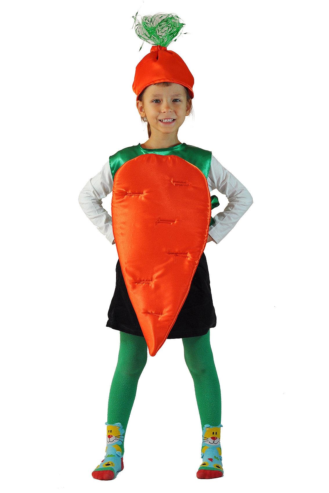 Детский костюм Оранжевой Морковки (26-34) детский костюм фиолетовой феи виндс 34