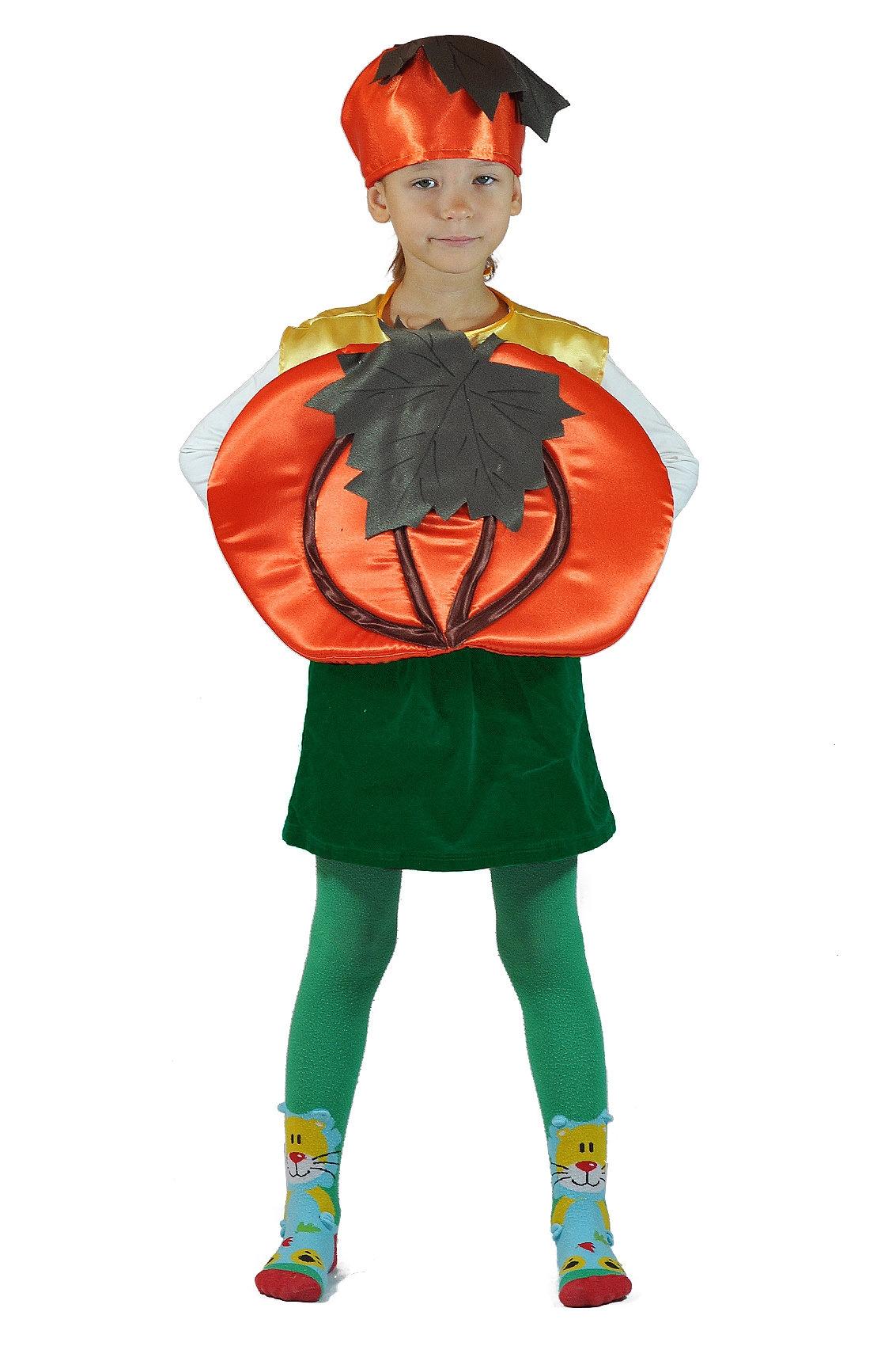 Детский костюм Огородной Тыквы (26-34) детский костюм фиолетовой феи виндс 34