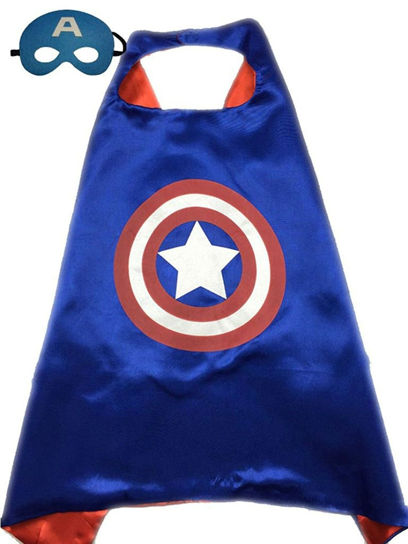 Плащ и маска Капитан Америка (UNI) плащ и маска миньон uni