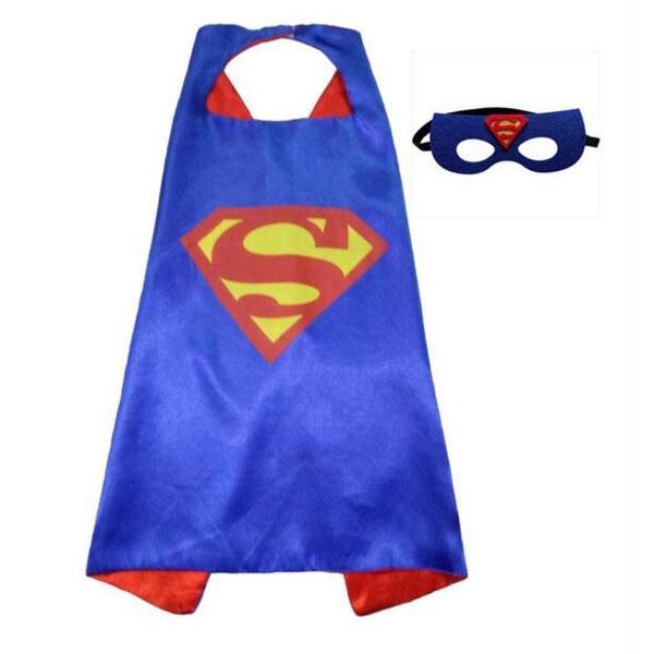 Плащ и маска Супермена (UNI) плащ и маска капитан америка uni