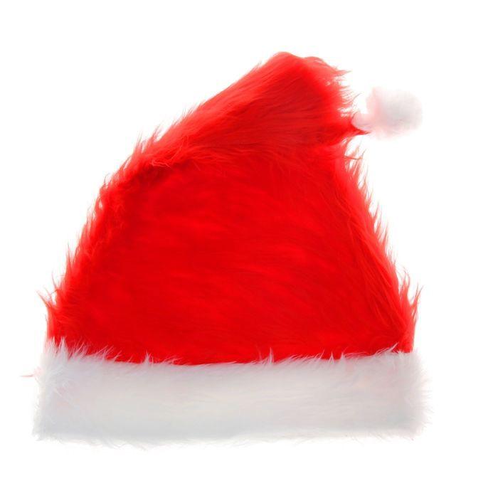 Колпак Санты Клауса (UNI) - Шляпы карнавальные