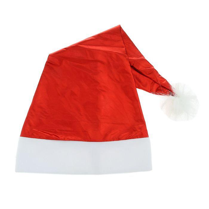 Красный колпак Деда Мороза (UNI) - Шляпы карнавальные