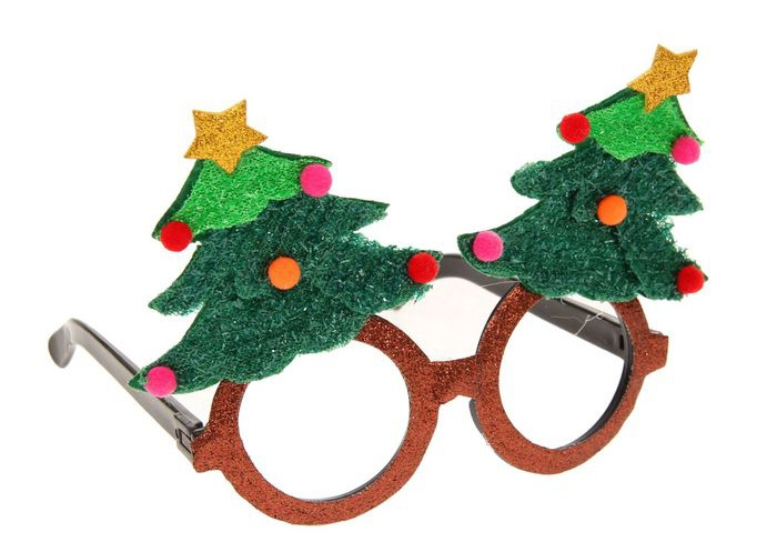 Очки новогодняя Елочка (UNI) - Очки