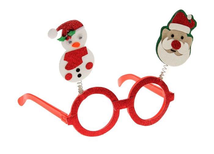 Новогодние праздничные очки (UNI) -  Новогодние костюмы