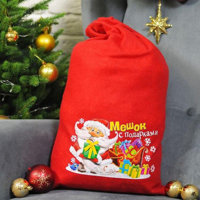 Мешок для подарков с рисунком (UNI) -  Новогодние костюмы