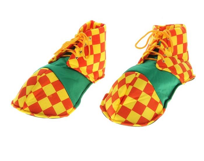 Мягкие клоунские ботинки (38-37) -  Обувь для костюмов