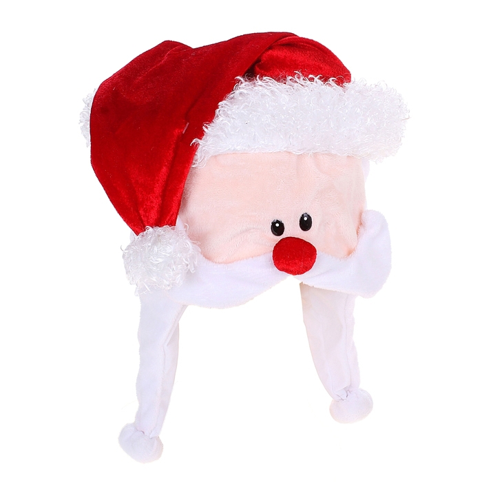 Шапка Дед Мороз (UNI) - Шляпы карнавальные