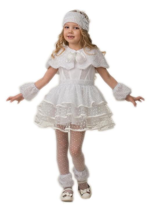 Детский костюм Зимней Снежинки (32) -  Новогодние костюмы