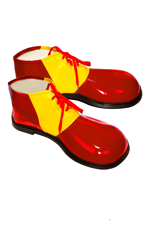 Взрослые красные башмаки Клоуна (UNI) - Обувь для костюмов