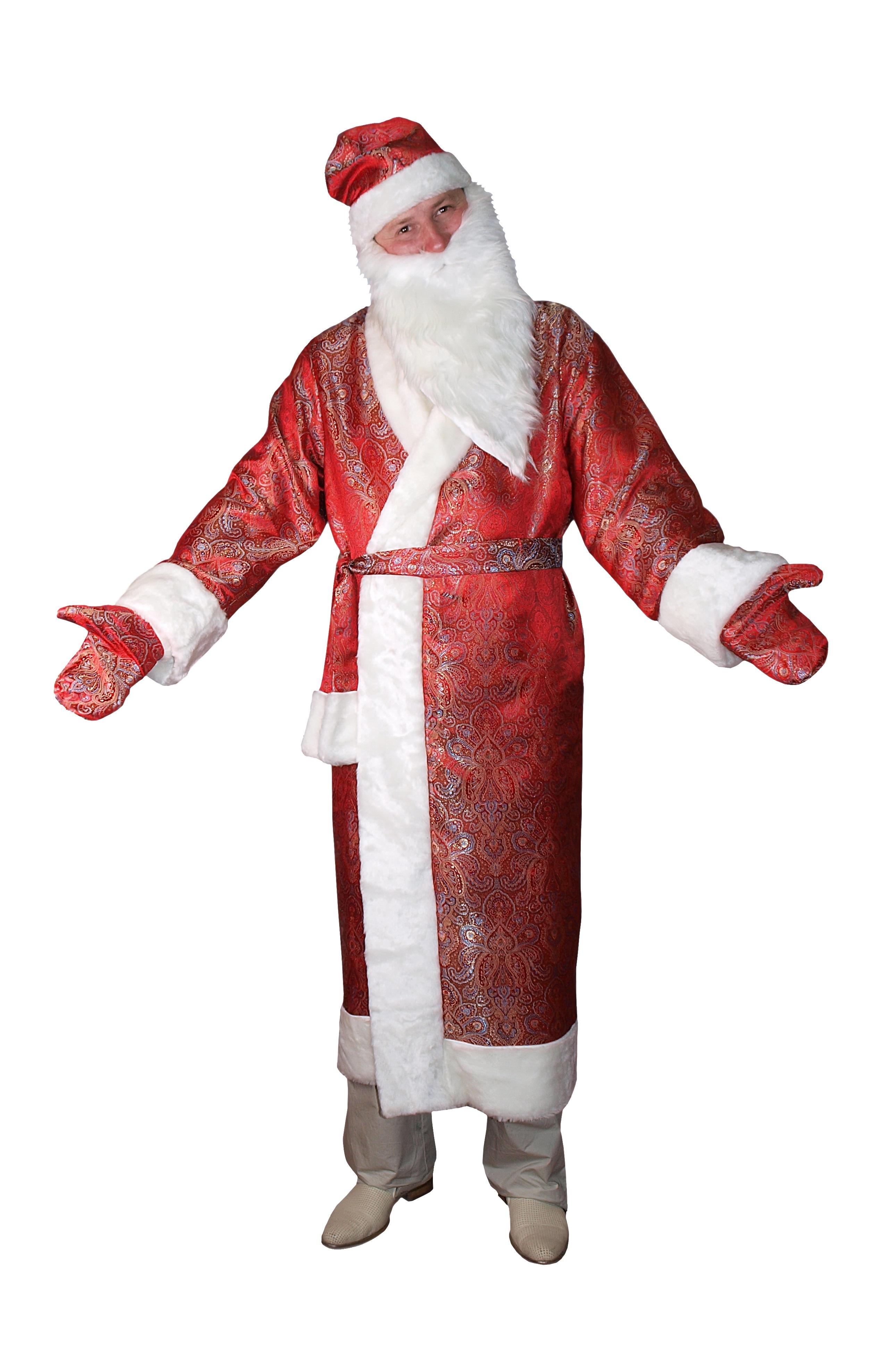 цена Костюм Веселого Деда Мороза (54) онлайн в 2017 году