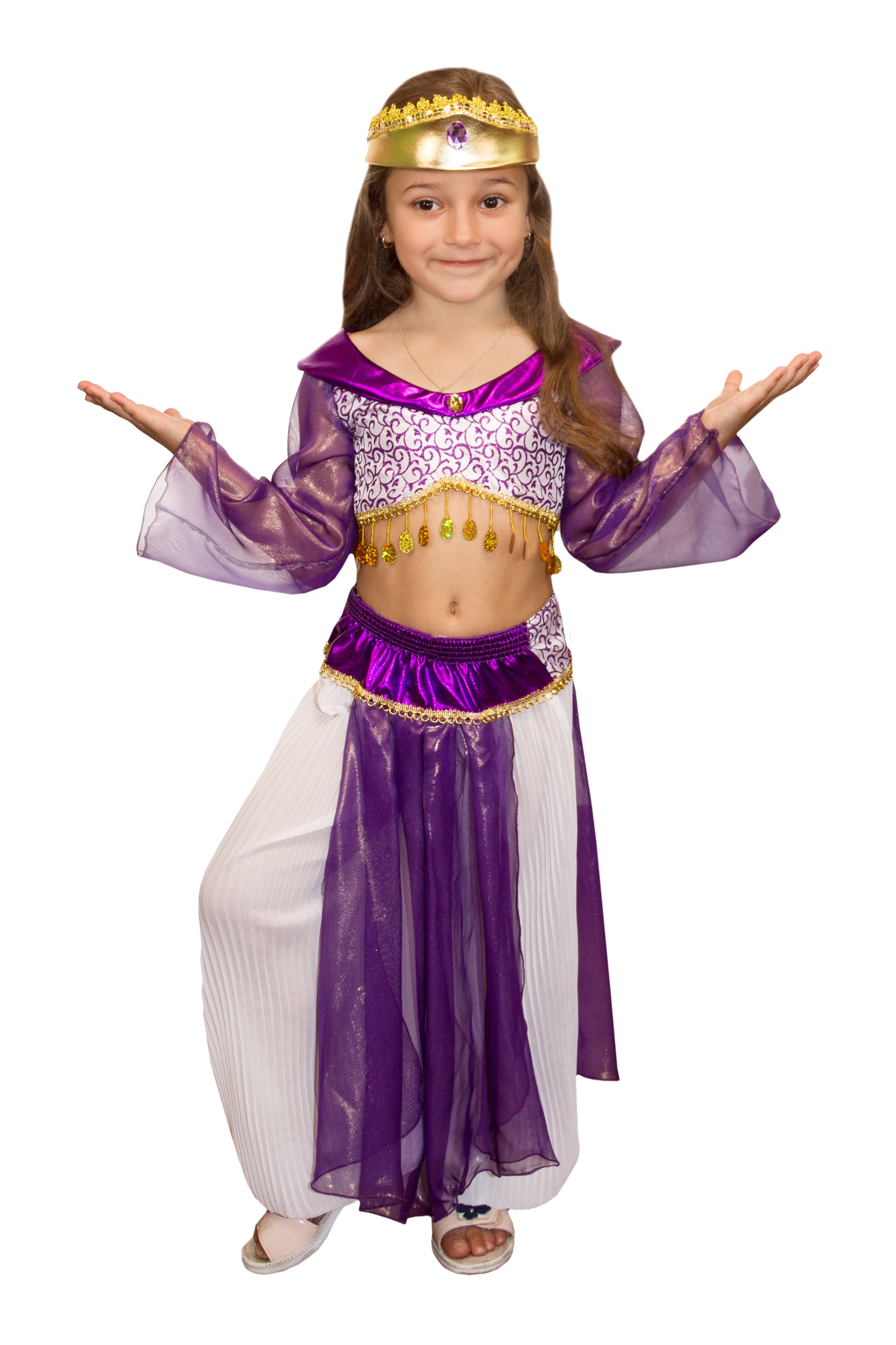 Детский костюм Фиолетовой Жасмин (34)