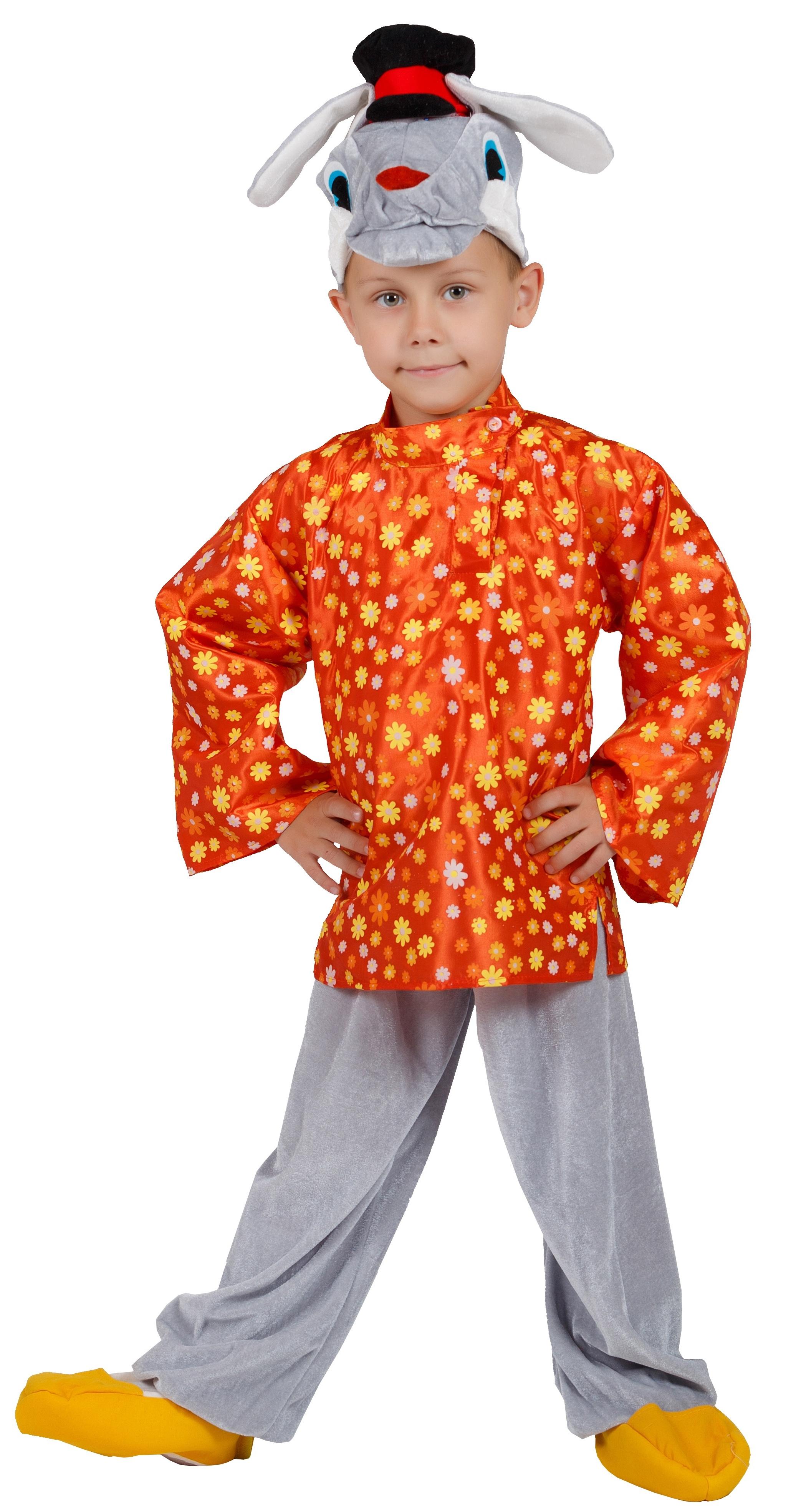 Детский костюм Зайца Хвастуна (28-30) детский костюм сказочного клоуна 30