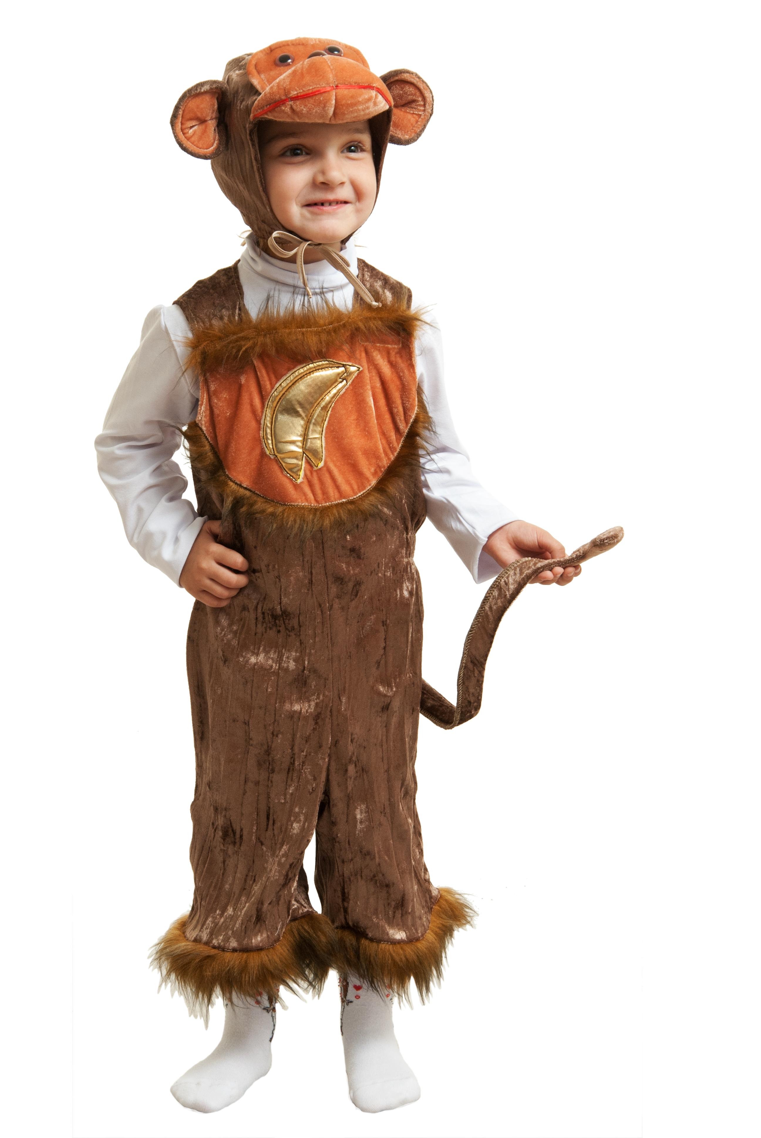 Детский костюм Банановой обезьянки (26) - Животные и зверушки, р.26