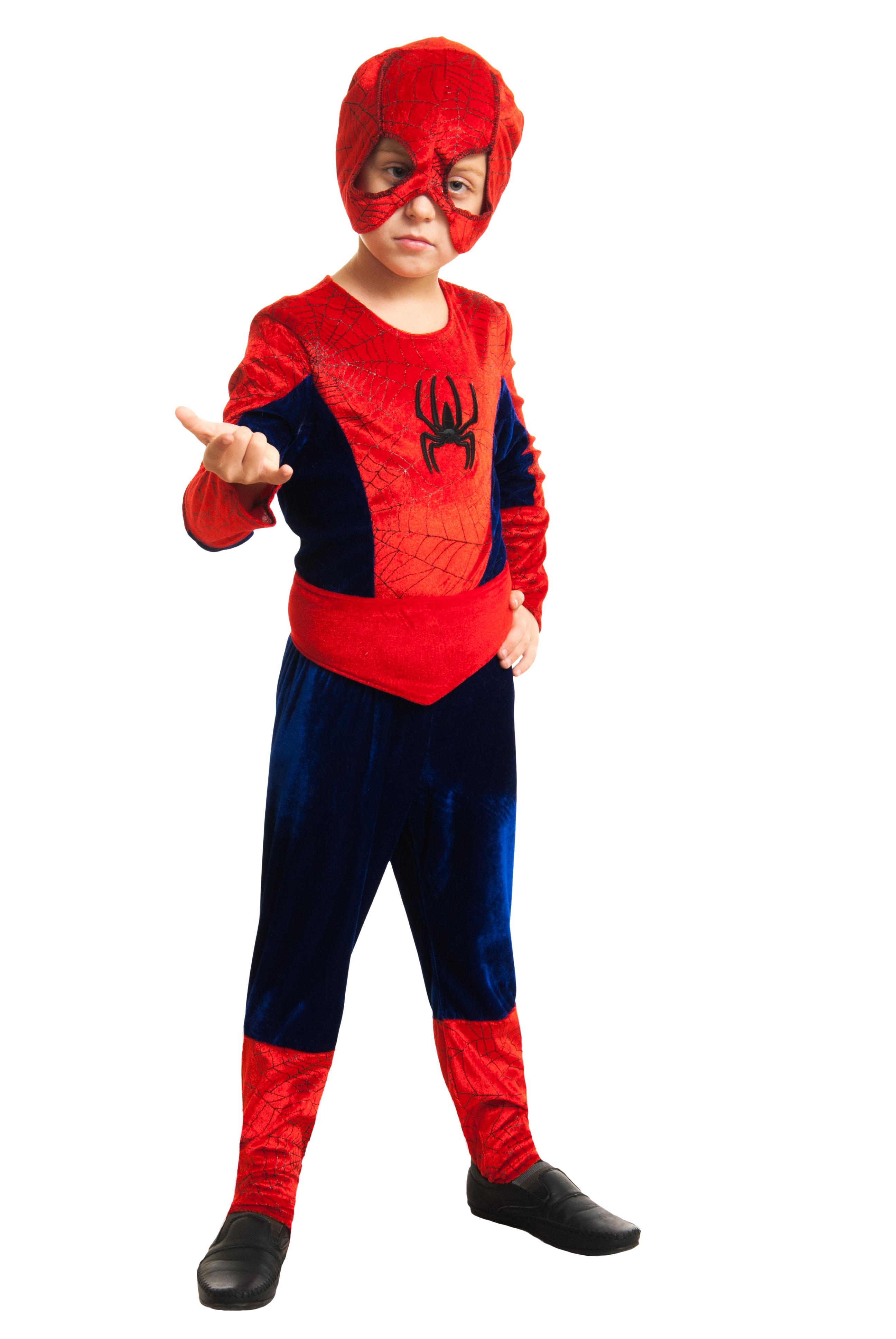 Детский костюм Красный Человек Паук (26)
