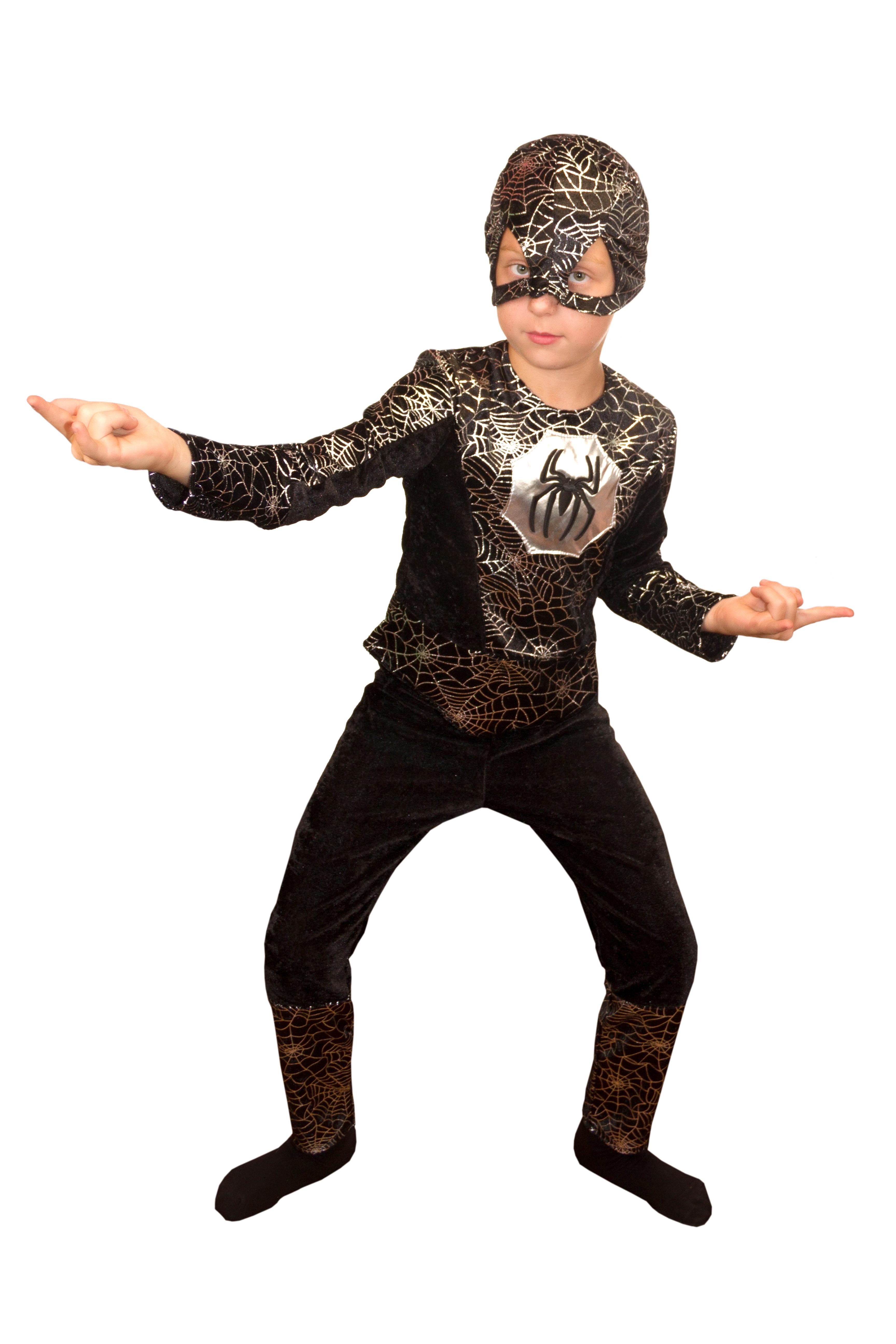 Детский костюм Черного Человека Паука (32) купить бластер для паутины человека паука