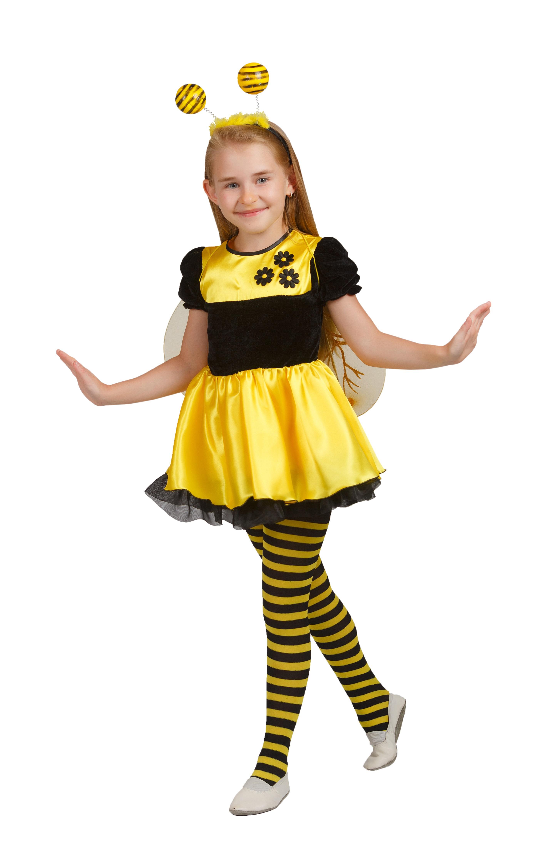 Детский костюм Полосатой Пчелки (28-30) детский костюм озорного клоуна 34