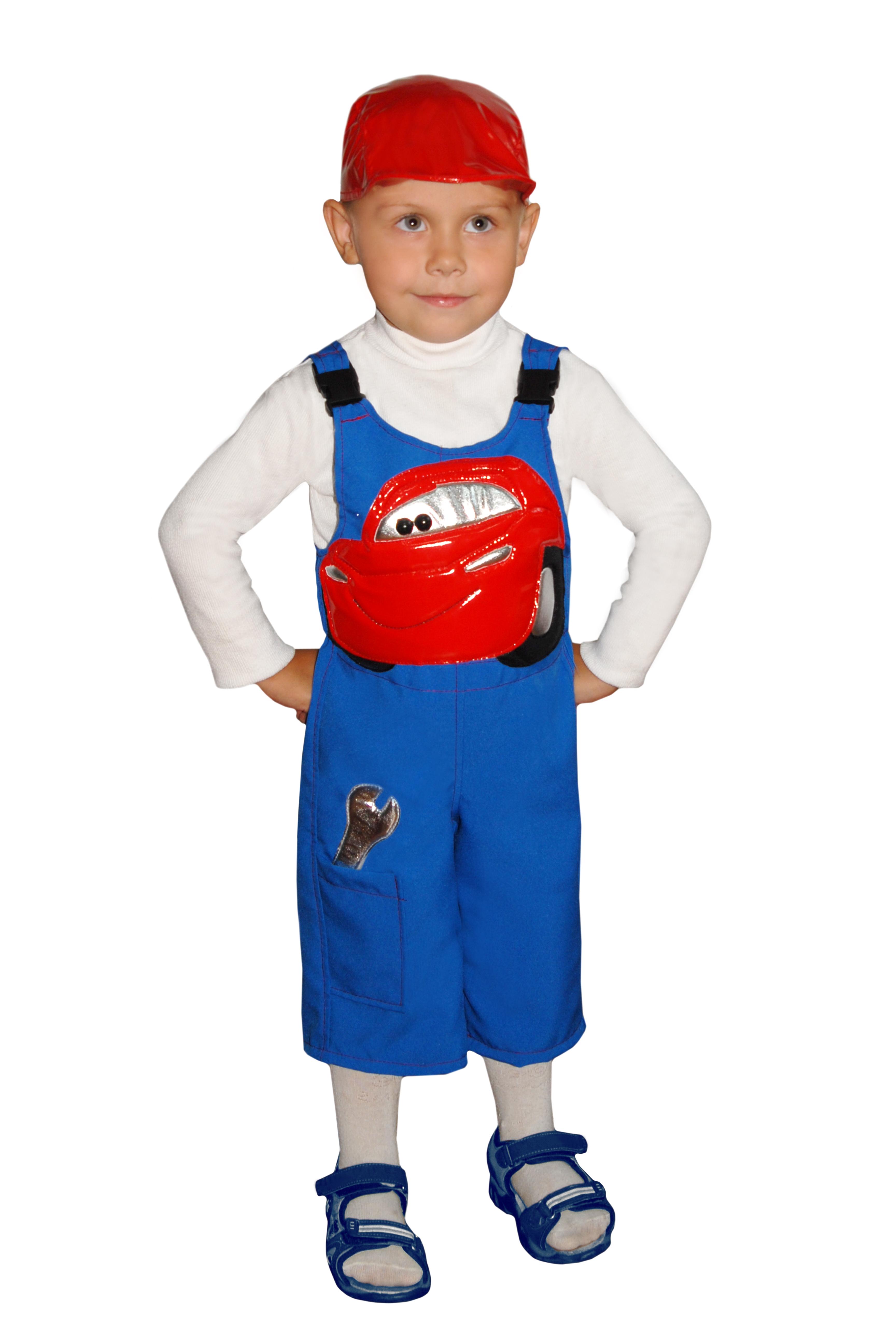 Детский костюм Механика из Тачки (24-26) детский костюм маленького повара 22 24
