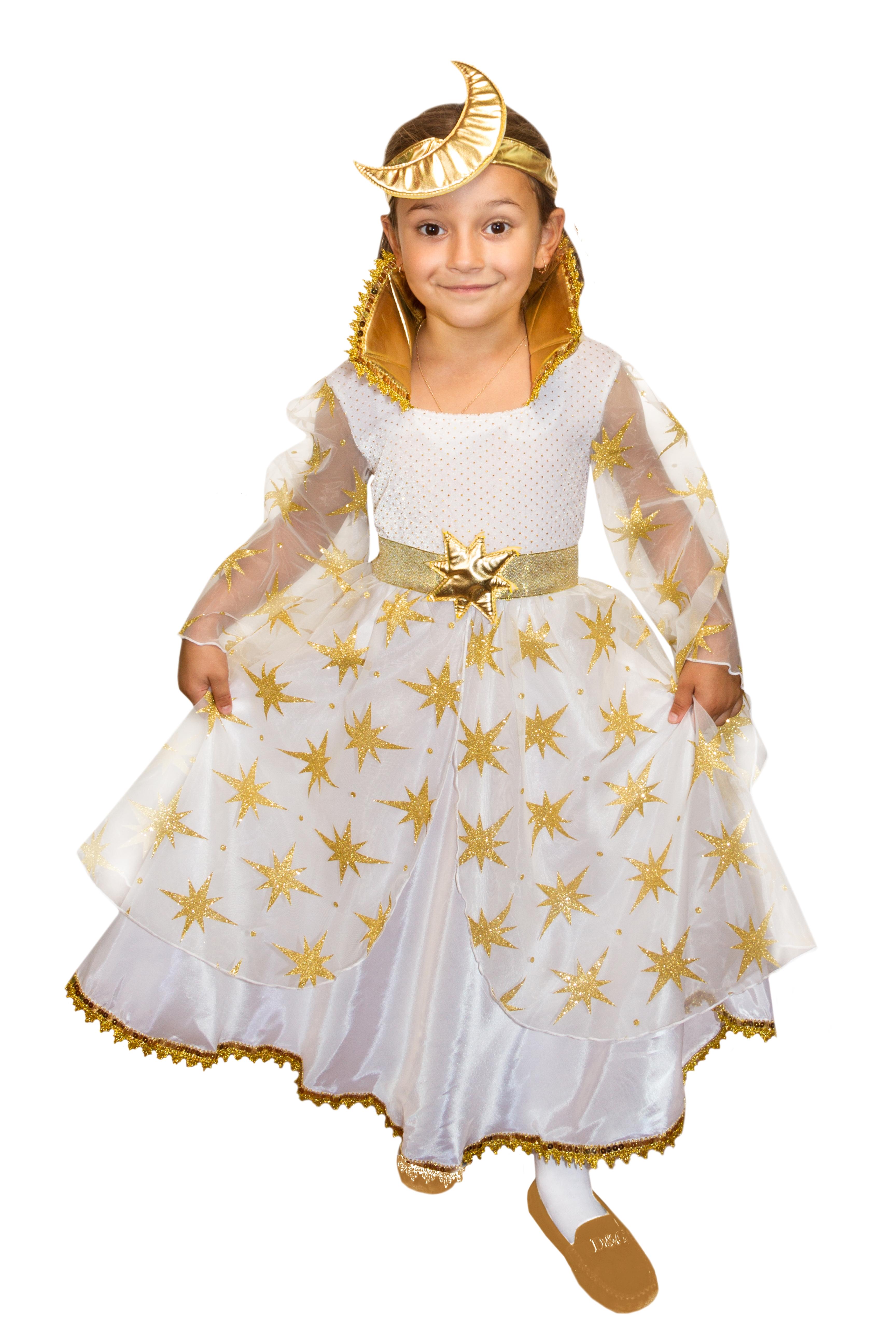 цены на Детский костюм Золотой Феи Ночи (32) в интернет-магазинах