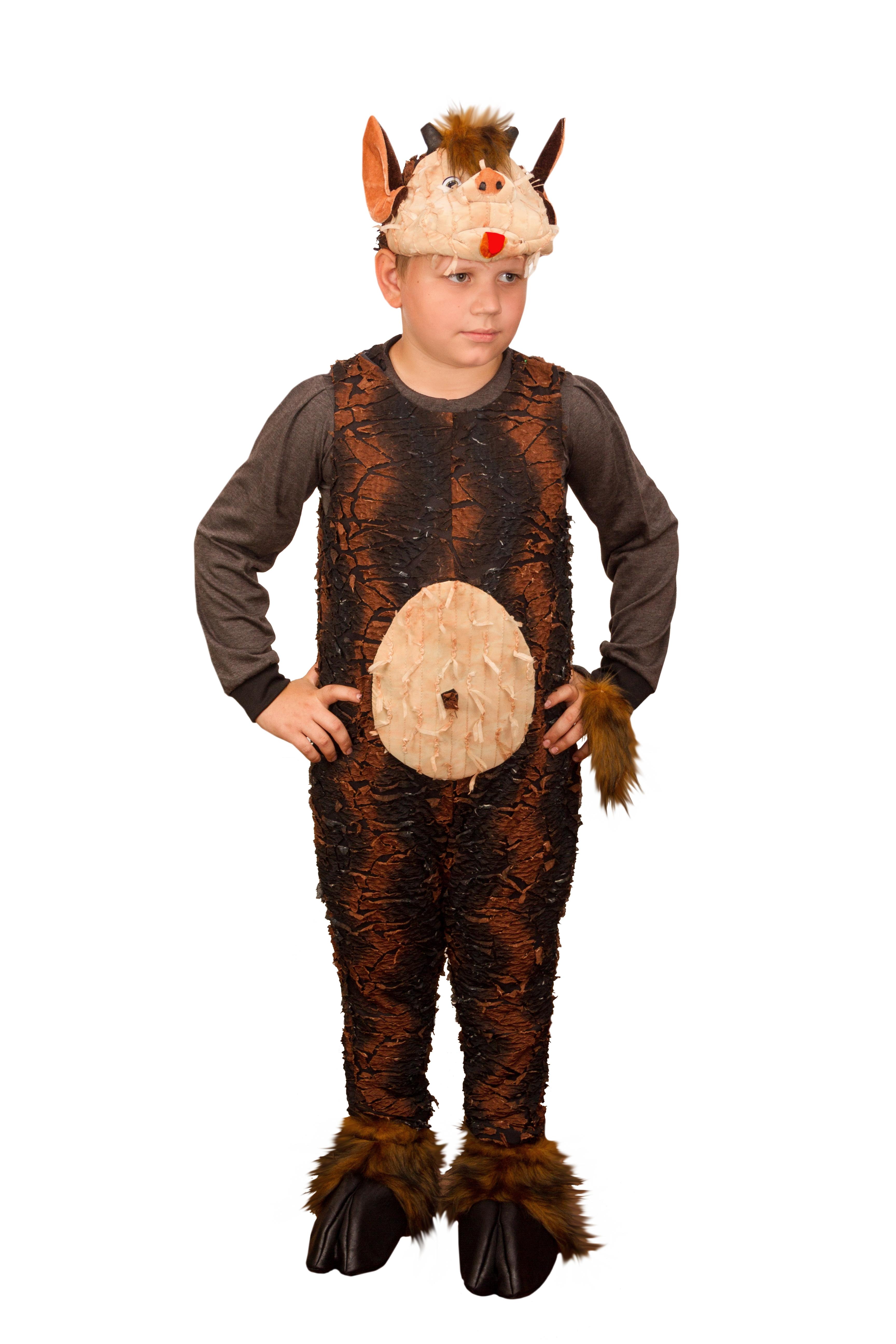 Детский костюм Чертика (34) детский костюм озорного клоуна 34