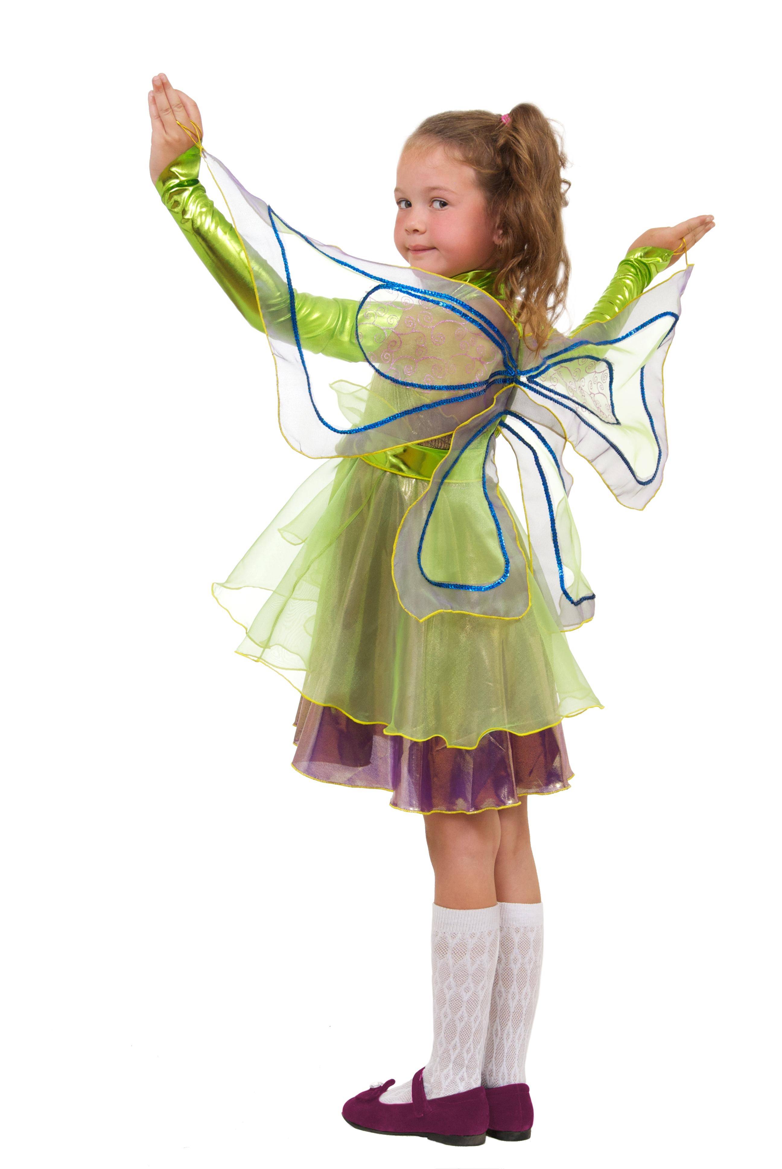 Детский костюм Фиолетовой Феи (34) детский костюм озорного клоуна 34
