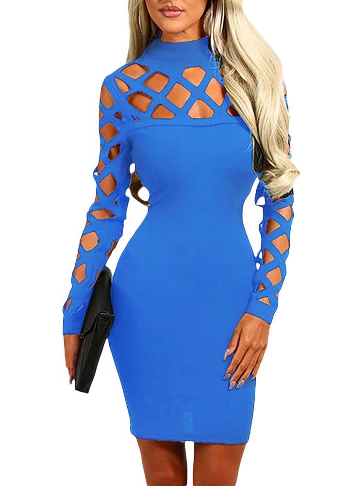 Голубое платье с сеткой (40-42) платье голубое в белый горошек