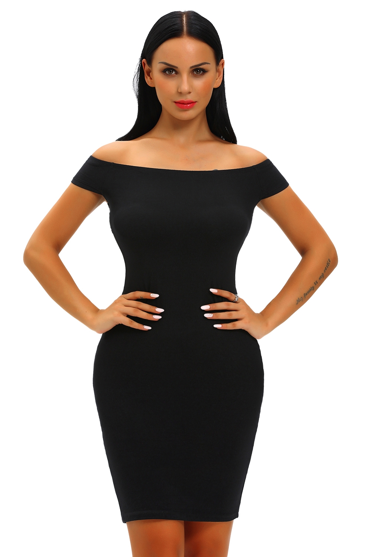 Классическое черное платье (40-42) prada черное пальто с открытыми плечами