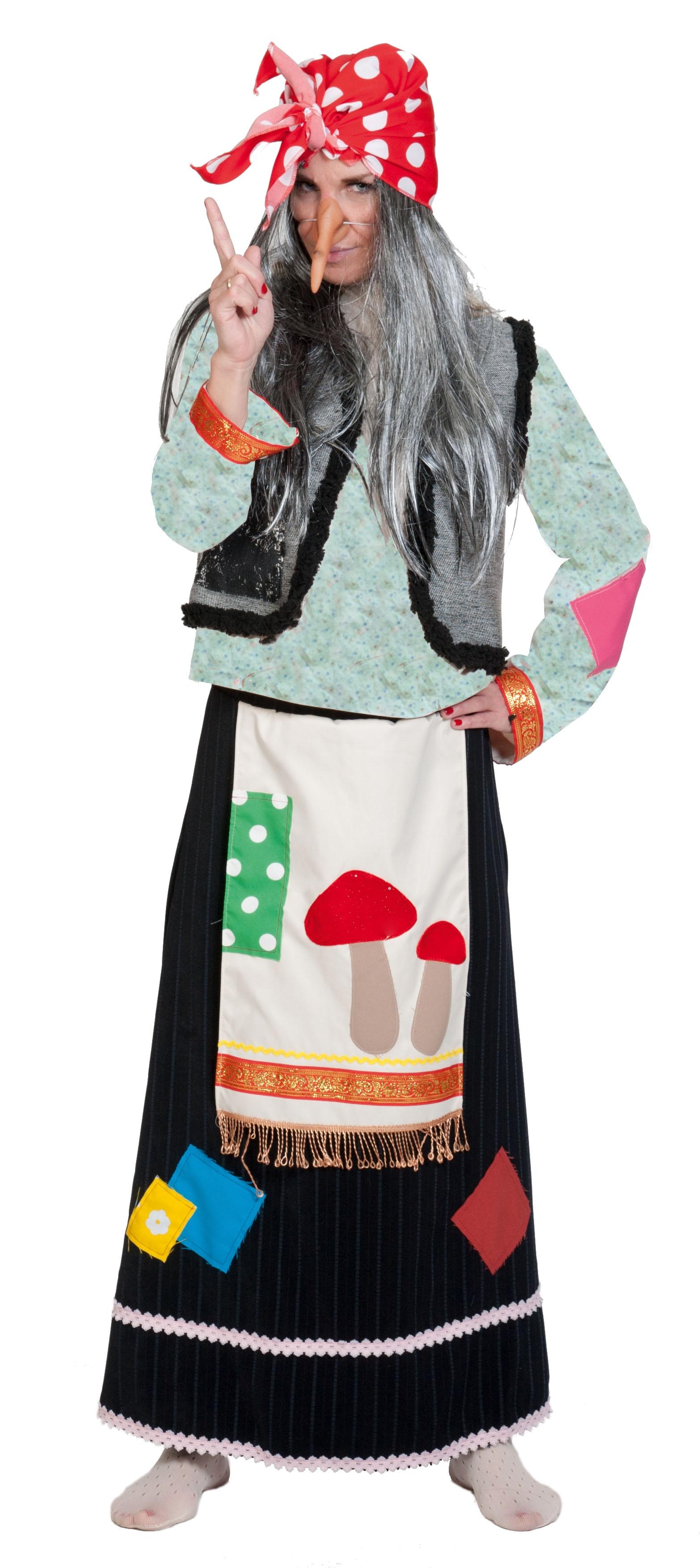 Взрослый костюм Бабы Яги (48-50) эксмо сказки бабы яги
