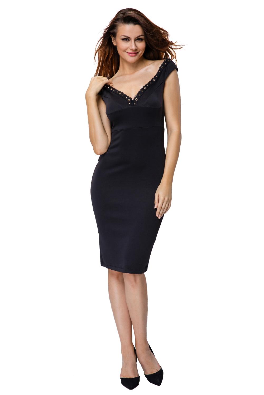 Черное платье с декором (40-42) виниловые обои grandeco ideco botanical ba 2304