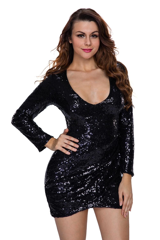 Короткое платье для клуба (40-42) -  Платья для клуба