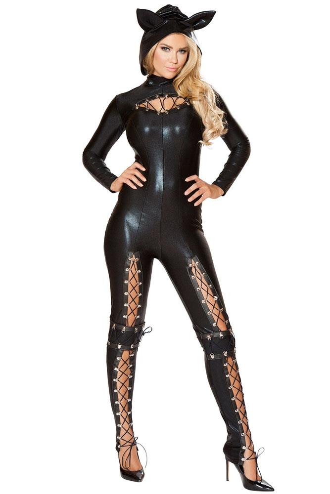 Черный комбинезон Женщины Кошки (46-48) -  Супергерои и комиксы