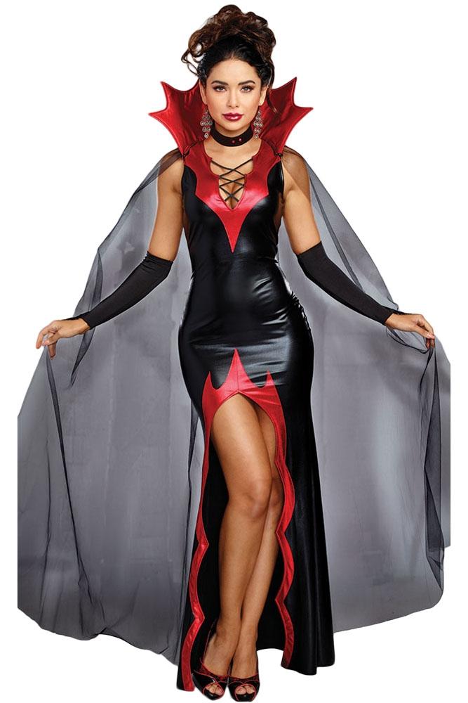 Костюм Роскошной Вампирши (46-48) костюм радужной клоунессы 46 48