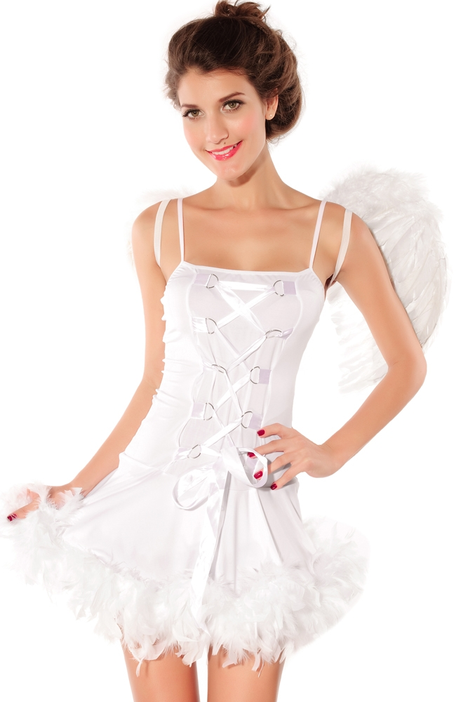 Платье Белого Ангела (42-44) -  Ангелочки и ангелы